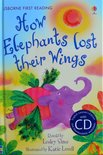 Level 2: How Elephants Lost Their Wings (Book CD) - Usborne First Reading