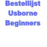 Bestellijst Usborne Beginners