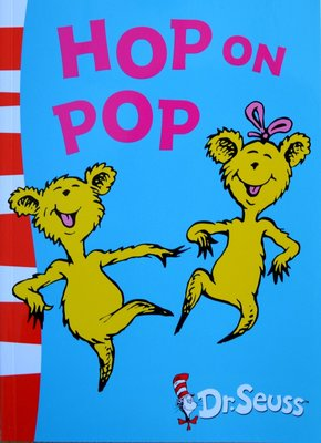 Hop on Pop - Dr. Seuss (Blue Back Book)