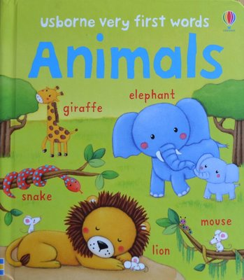 Animals - Usborne Very First Words