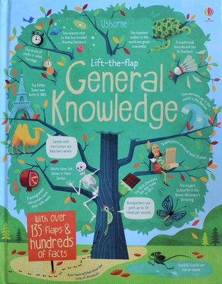 Lift-the-flap General Knowledge - Usborne Flap Book