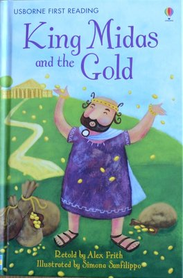 Level 1: King Midas and the Gold - Usborne First Reading
