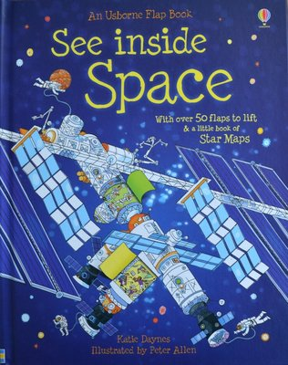 See Inside Space - Usborne Flap Book