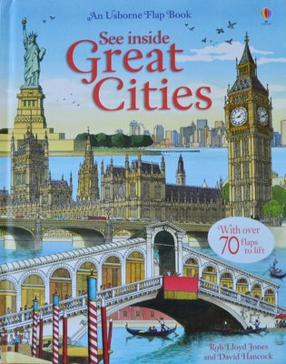 See Inside Great Cities - Usborne Flap Book