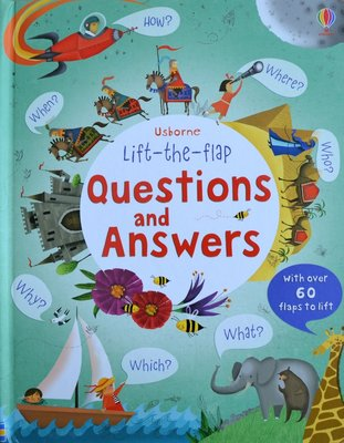 Lift-the-flap Questions and Answers - Usborne Flap Book