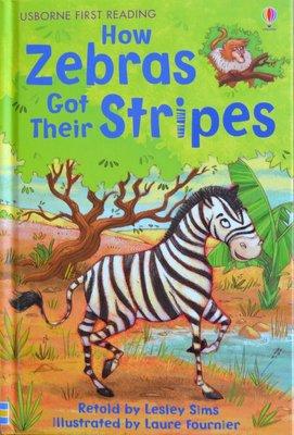 Level 2: How Zebras got their Stripes - Usborne First Reading