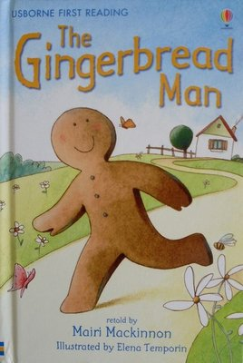 Level 3: The Gingerbread Man - Usborne First Reading