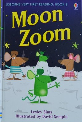 Book 8: Moon Zoom - Usborne Very First Reading