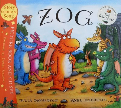 Zog (Book & CD set) - Julia Donaldson & Axel Scheffler