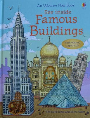 See Inside Famous Buildings - Usborne Flap Book
