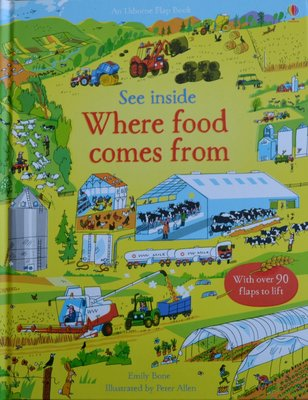 See Inside Where food comes from - Usborne Flap Book