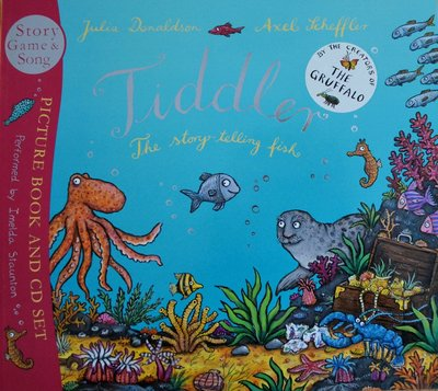 Tiddler: The story-telling fish (Book & CD set) - Julia Donaldson