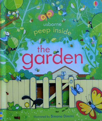 Peep Inside the Garden - Usborne Flap Book