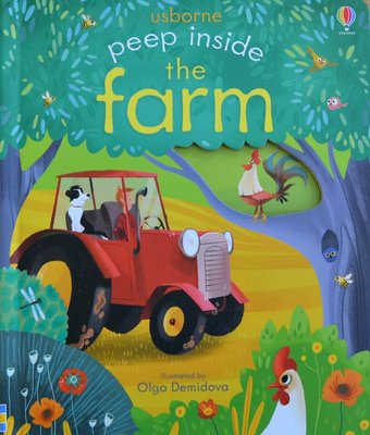 Peep Inside the Farm - Usborne Flap Book