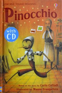 Series 2: Pinocchio (Book CD) - Usborne Young Reading