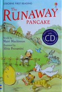Level 4: The Runaway Pancake (Book CD) - Usborne First Reading
