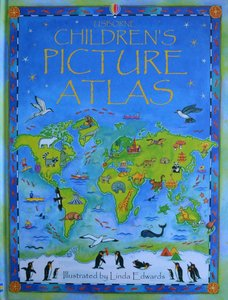 Usborne Children's Picture Atlas - Ruth Brocklehurst & Linda Edwards