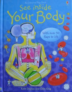 See Inside Your Body - Usborne Flap Book