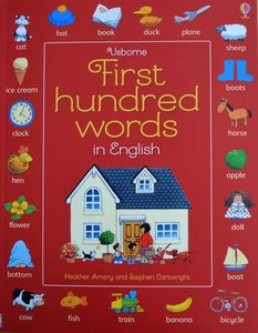 First Hundred Words in English - Heather Amery & Stephen Cartwright