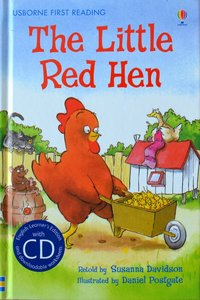 Level 3: The Little Red Hen (Book CD) - Usborne First Reading