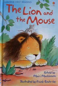 Level 1: The Lion and the Mouse - Usborne First Reading
