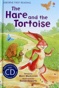 Level 4: The Hare and the Tortoise (Book   CD) - Usborne First Reading