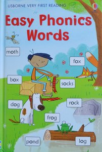 Easy Phonics Words - Usborne Very First Reading