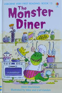 Book 13: The Monster Diner - Usborne Very First Reading