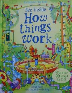 See Inside How things work - Usborne Flap Book