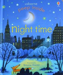 Peep Inside Night Time - Usborne Flap Book