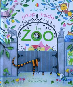 Peep Inside the Zoo - Usborne Flap Book