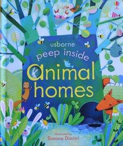Peep Inside Animal homes - Usborne Flap Book
