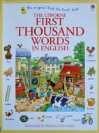 First Thousand Words in English - Heather Amery & Stephen Cartwright