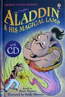 Series 1: Aladdin & His Magical Lamp (Book CD) - Usborne Young Reading